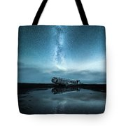 Abandoned In Iceland Tote Bag