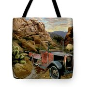 Abandoned In The Desert Tote Bag