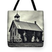 Abandoned Schoolhouse Tote Bag by Garvin Hunter