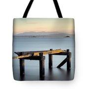 Aberdour Pier Tote Bag