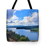 Above The Waters Tote Bag