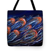 Abstract Dusk Tote Bag