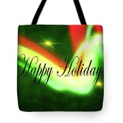 Abstract Holiday Tote Bag