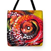 Abstract Lion Fish Tote Bag