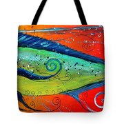 Abstract Mahi Mahi Tote Bag