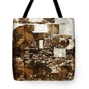 Abstract Map Tote Bag by Art Di