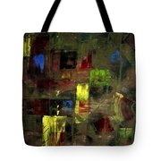 Abstract Patchwork Tote Bag