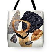 Abstract Pebbles IIi Tote Bag