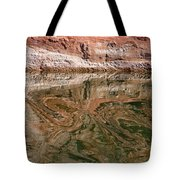 Abstract Reflections On Lake Powell Tote Bag
