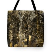 Abstract Scary Ocher Plaster Tote Bag