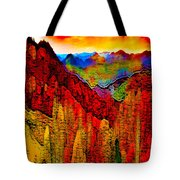 Abstract Scenic 3 Tote Bag