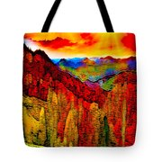 Abstract Scenic 3a Tote Bag