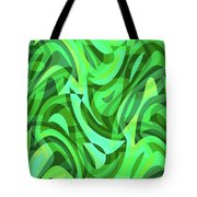 Abstract Waves Painting 0010075 Tote Bag
