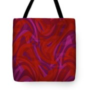 Abstract Waves Painting 0010080 Tote Bag