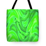 Abstract Waves Painting 0010082 Tote Bag