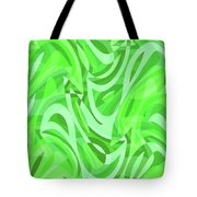 Abstract Waves Painting 0010086 Tote Bag