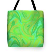 Abstract Waves Painting 0010089 Tote Bag