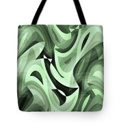 Abstract Waves Painting 0010095 Tote Bag