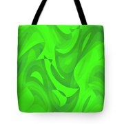 Abstract Waves Painting 0010100 Tote Bag