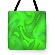 Abstract Waves Painting 0010101 Tote Bag