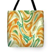 Abstract Waves Painting 0010105 Tote Bag