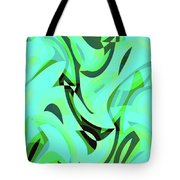 Abstract Waves Painting 0010107 Tote Bag