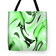 Abstract Waves Painting 0010108 Tote Bag