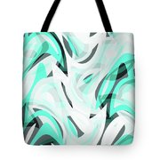 Abstract Waves Painting 0010111 Tote Bag