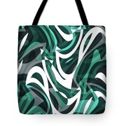 Abstract Waves Painting 0010112 Tote Bag