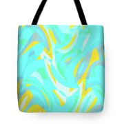 Abstract Waves Painting 0010114 Tote Bag
