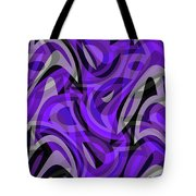 Abstract Waves Painting 0010115 Tote Bag