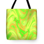Abstract Waves Painting 007178 Tote Bag