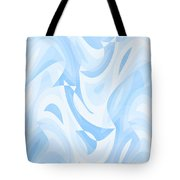 Abstract Waves Painting 007182 Tote Bag