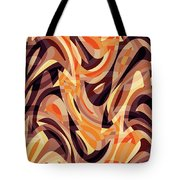 Abstract Waves Painting 007187 Tote Bag