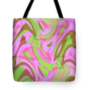 Abstract Waves Painting 007188 Tote Bag