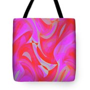 Abstract Waves Painting 007190 Tote Bag