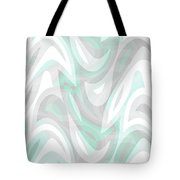 Abstract Waves Painting 007194 Tote Bag