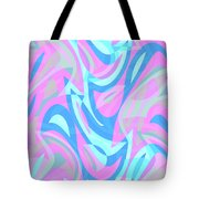 Abstract Waves Painting 007197 Tote Bag