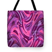 Abstract Waves Painting 007200 Tote Bag