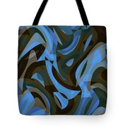 Abstract Waves Painting 007203 Tote Bag