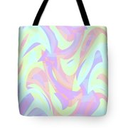 Abstract Waves Painting 007205 Tote Bag
