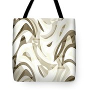 Abstract Waves Painting 007212 Tote Bag