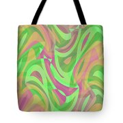 Abstract Waves Painting 007214 Tote Bag