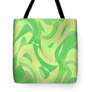 Abstract Waves Painting 007216 Tote Bag