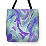 Abstract Waves Painting 007217 Tote Bag