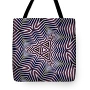 Abstract Zebra Design Tote Bag