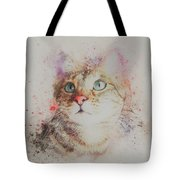 Abyssinian Cat Tote Bag