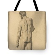 Academic Nude, Seen From The Back Tote Bag