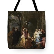 Achilles And The Daughters Of Archimedes  Tote Bag