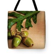 Acorns From The Salem Oak Tree Tote Bag by Louis Dallara